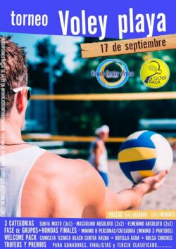 Ampliar foto: II Torneo de Voley-Playa «Beach Center Arena»